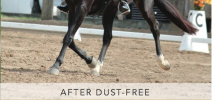 Dust free krystallen